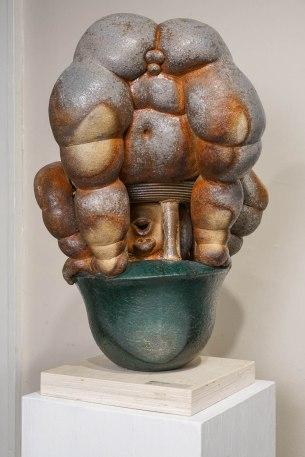 "2016, Wood Fired Ceramic, 22"" x 16"" x 16"""