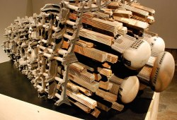 2009, Wood Fired Ceramic, 10ft x 4ft x 3ft
