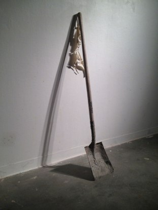 2014, Porcelain and shovel