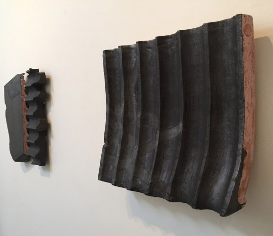 """Dryden Wells, """"ZUI PENGYOU"""" (right); DOUBLE HAPPINESS (left); Installation Detail"""