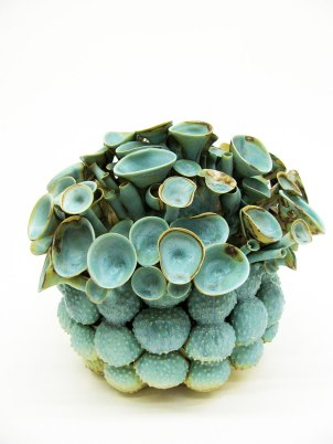 Coleman Porcelain, cone 10, 13.5 x 14 x 13.75 inches, 2012