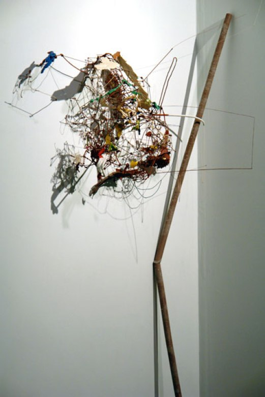 Rumination of Glitter and Glue, 2007, dimensions variable