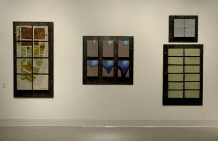 """16' x 7' x 5"""", stoneware, inlay glaze, steel, 2006"""