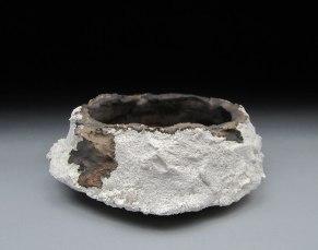 """Porcelain, Bronze Glaze, 3""""x6""""x6"""", 2012"""