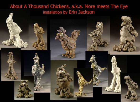 """Erin Jackson, """"About a Thousand Chickens"""""""