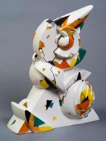 Porcelain. Overglaze painting. Gold. 28х21.5х8 сm