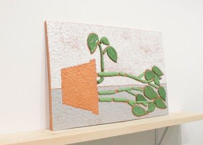 Ceramic, 24 x 36 x 1in, 2016