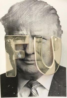 "porcelain letters, screen print 13"" 19"", 2017"