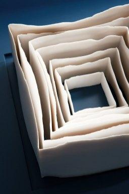 Porcelain Dimensions: 27cm H X27cm H, Frame Dimensions: 60cm H X 60cm W, Material: Porcelain