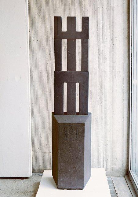 handbuilt, chamotte, h – 170 cm, 1992