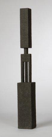 handbuilt, chamotte, h – 69 cm, 2008