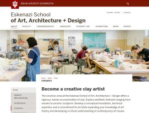 IU Bloomington screenshot