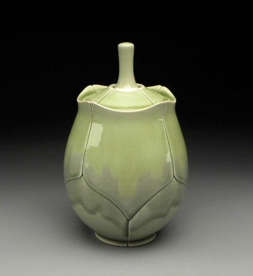 """Lotus Jar, 2011, 8x5x5"""""""