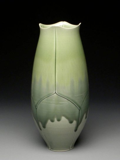"Lotus Vase, 2011, 11x5x5"""