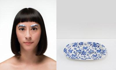"Jennifer Datchuk, ""Blue and White: Elegant Ingénue"""