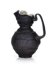 "Justin Donofrio, ""Black Pitcher: Colored Porcelain"""