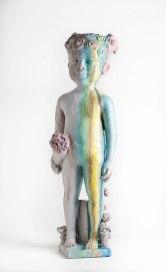 Ceramic, 35.5 x 11 x 11 inches, 2016