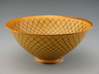 "6"" diameter x 4.75"" tall, ^6 grolleg porcelain"