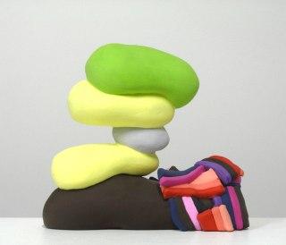 Ceramic, Acrylic, 10 x 11 x 4 inches, 2013