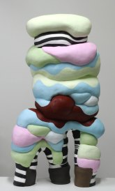 Ceramic, Acrylic, 39 x 22 x 12 inches, 2012