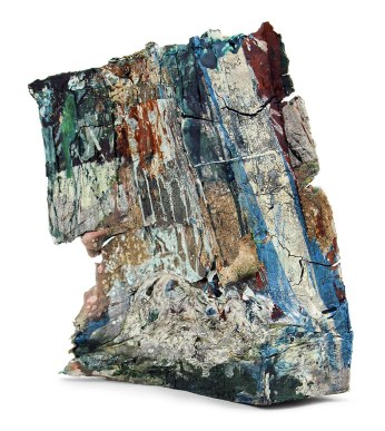 2014, Various reclaimed ceramic materials; 16″ x 11″ x 10″