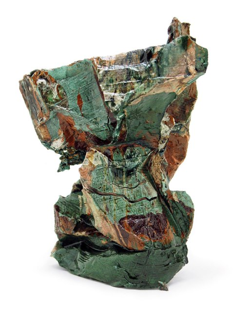 2014, Various reclaimed ceramic materials; 12.5″ x 9″ x 7″