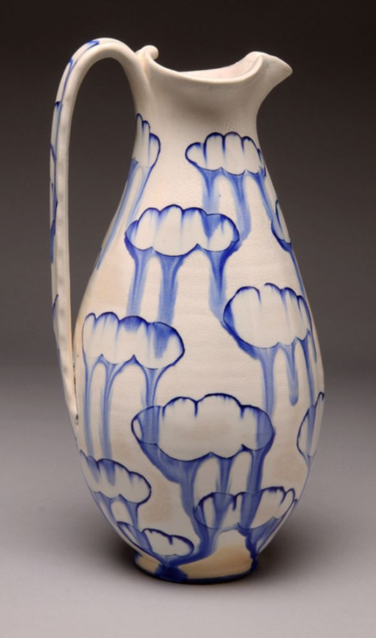 porcelain, thrown and altered, cone 6 soda firing neutral