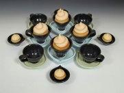 """2010, Cone 6 Stoneware, 6"""" x 30"""" x 30"""""""