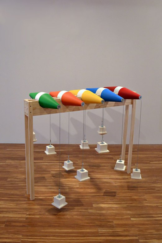 "P.F.D | Throwables, 54"" x 40"" x 24"" Ceramic + Mixed"
