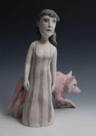 "hand built porcelain, 14.5""x11""x8"", 2012"