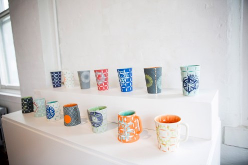 """Kelly Justice, """"Mugs and Tumblers"""""""