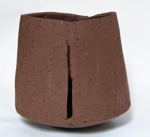 "Kris Marubayashi, ""slit sculpture"""
