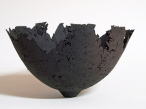 "Kris Marubayashi, ""textured clay bowl"""