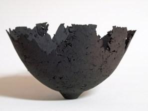 "Kris Marubayashi, ""textured clay bowl"""