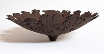 "Kris Marubayashi, ""black flare bowl"""