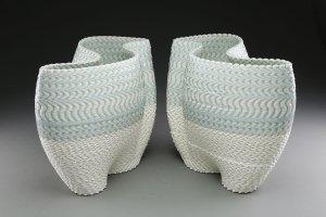 "Keith Simpson, ""Mirrored Vases"""
