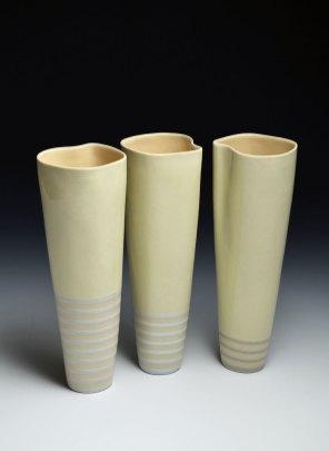 porcelain, 3x3x12 inches ea., 2014