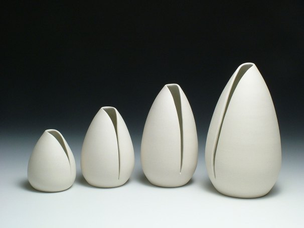 porcelain, varying sizes, 2010
