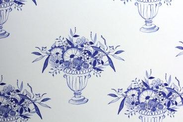 wallpaper detail; digital print, 2015