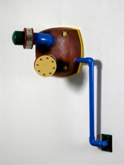 Reduction-fired Stoneware sandblasted, Rubber, Gaskets, Steel Pipe, 52 x 17 x 18 inches, 2009
