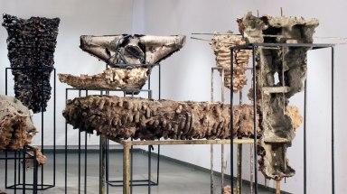 concrete, clay, resins, metal, 2013, ASP Museum, Wroclaw, Poland 9 photo. M.Puszczynski)