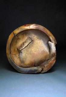 "Wood-fired white stoneware, 26""x24""x6"""