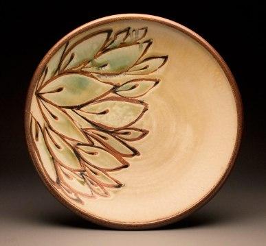 "4""x18""x18"", wood /soda/salt fired stoneware"
