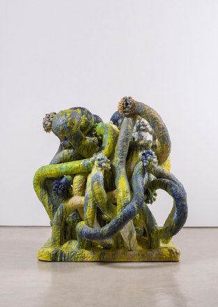 """ceramics, 77""""x74""""x69"""", 2015"""