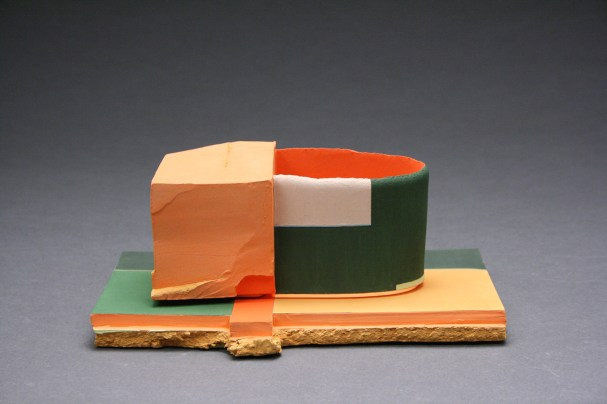 Earthenware and stoneware, low-fire glazes, 10 x 6.5 x 5 inches, 2014-2017