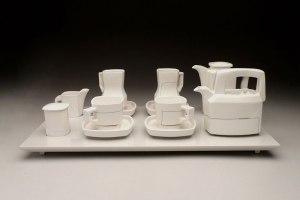 "Coffee + Tea (4), 10"" x 26"" x 15"", 2011"