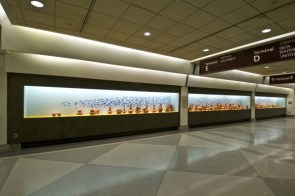 Philadelphia International Airport, terra cotta, dimensions variable, 2010