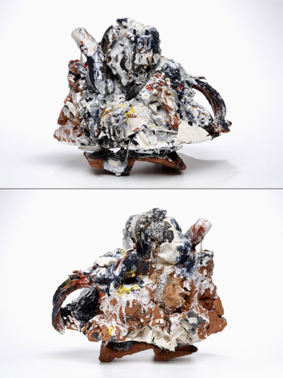 2010, earthenware, porcelain, glaze, underglaze
