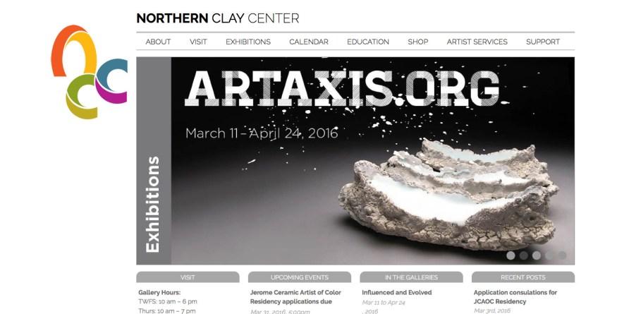 Northern Clay Center screenshot