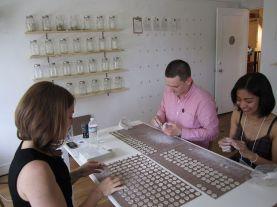 porcelain, glass, paper, quarters, public participation, 2012